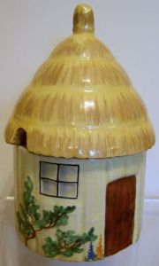 Carlton Ware Cottage Ware Preserve Pot  - early 1930s